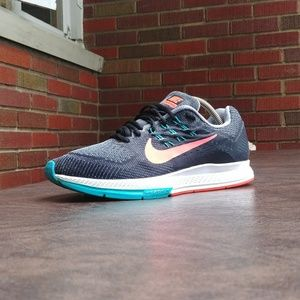 NIKE ZOOM STRUCTURE 18 RUNNING SHOES SZ 9